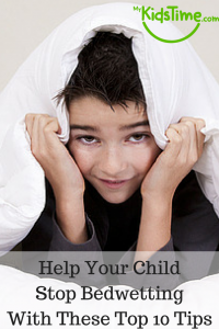 Help Your Child Stop Bedwetting with