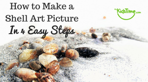 How to Make a Shell Art Picture in 4