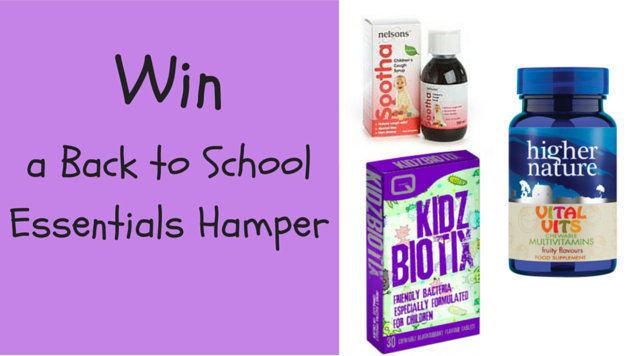 Win a Back to School Essentials Hamper