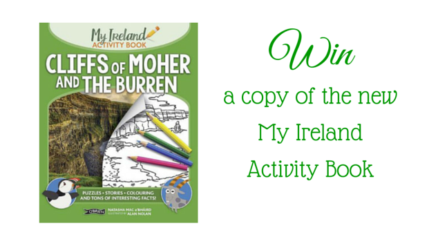 Win a copy of My Ireland Activity book