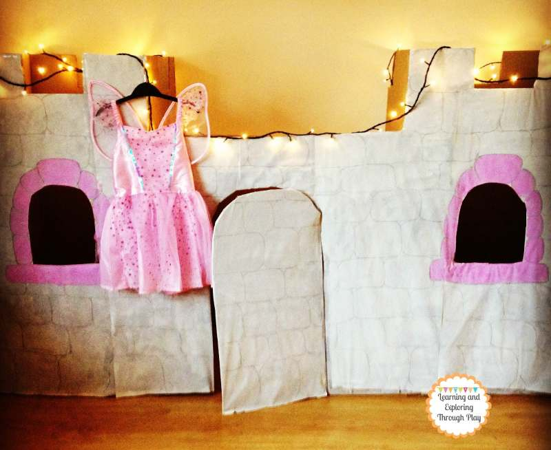 cardboard castle craft