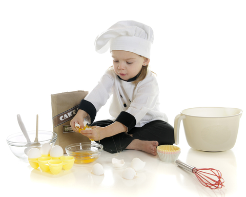 teach your child to cook