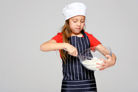 teach your child to cook Baking