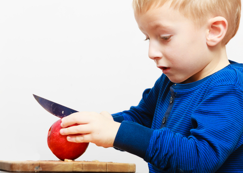teach your kids to cook chopping