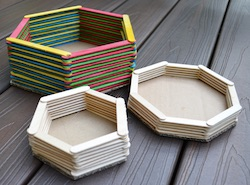 Popsicle stick Baskets from Ikatbag