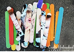 Popsicle Sticks from Crafts Unleashed