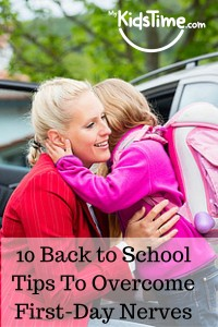 10 Back to School Tips to Overcome First-Day
