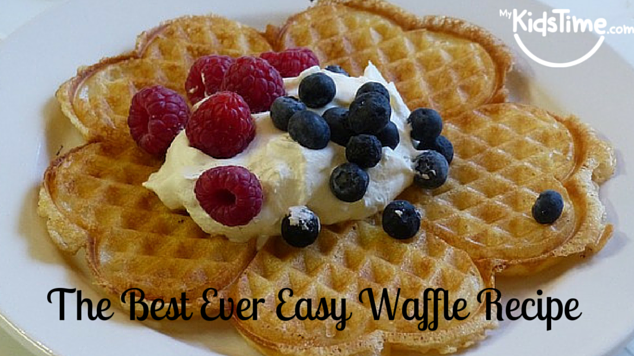 The Best Ever Easy Waffle Recipe