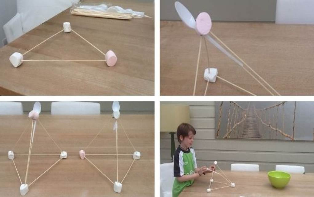How to Make a Catapult for Kids Using Marshmallows engineering activities to do at home