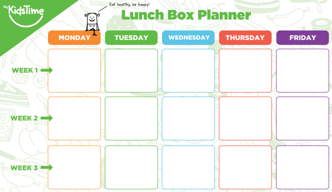 Monthly_Lunch_box_planner