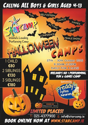 Starcamps Halloween Camps 2015
