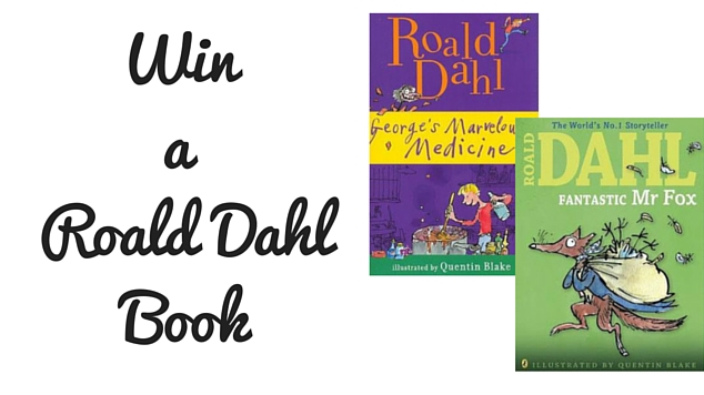 Win a Roald Dahl Book
