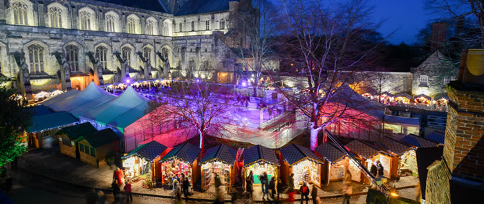 Winchester UK Christmas Market