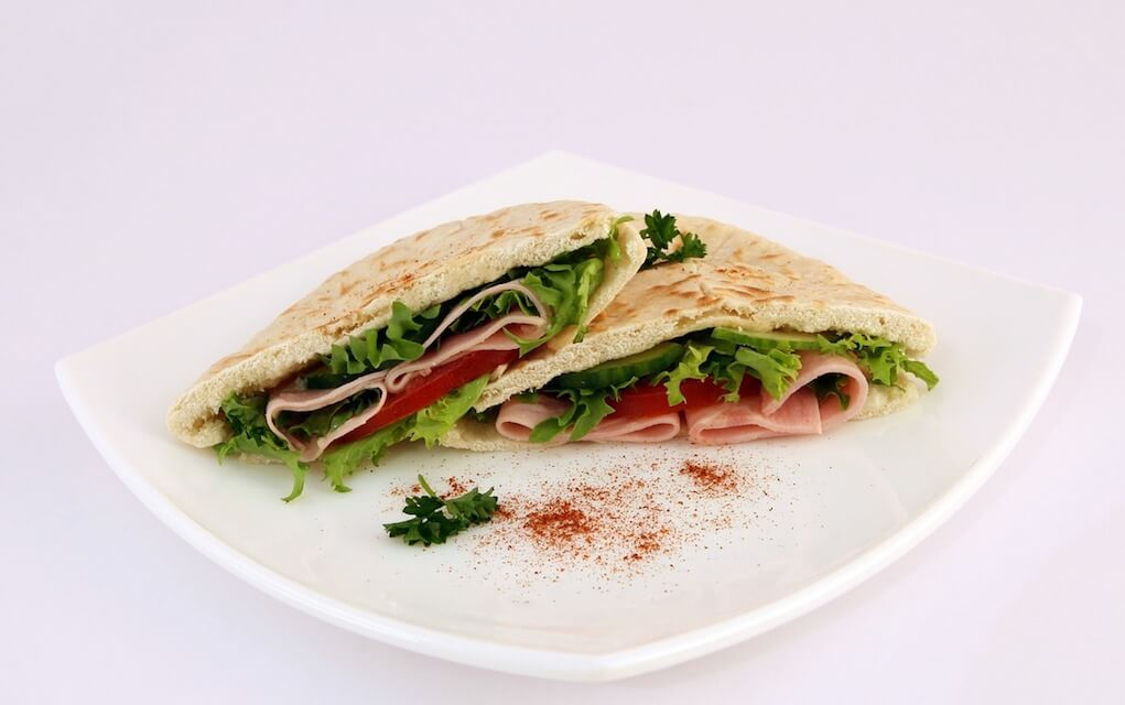 lunch box ideas pitta bread
