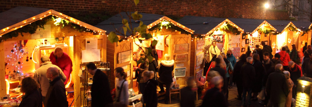 st albans UK christmas market