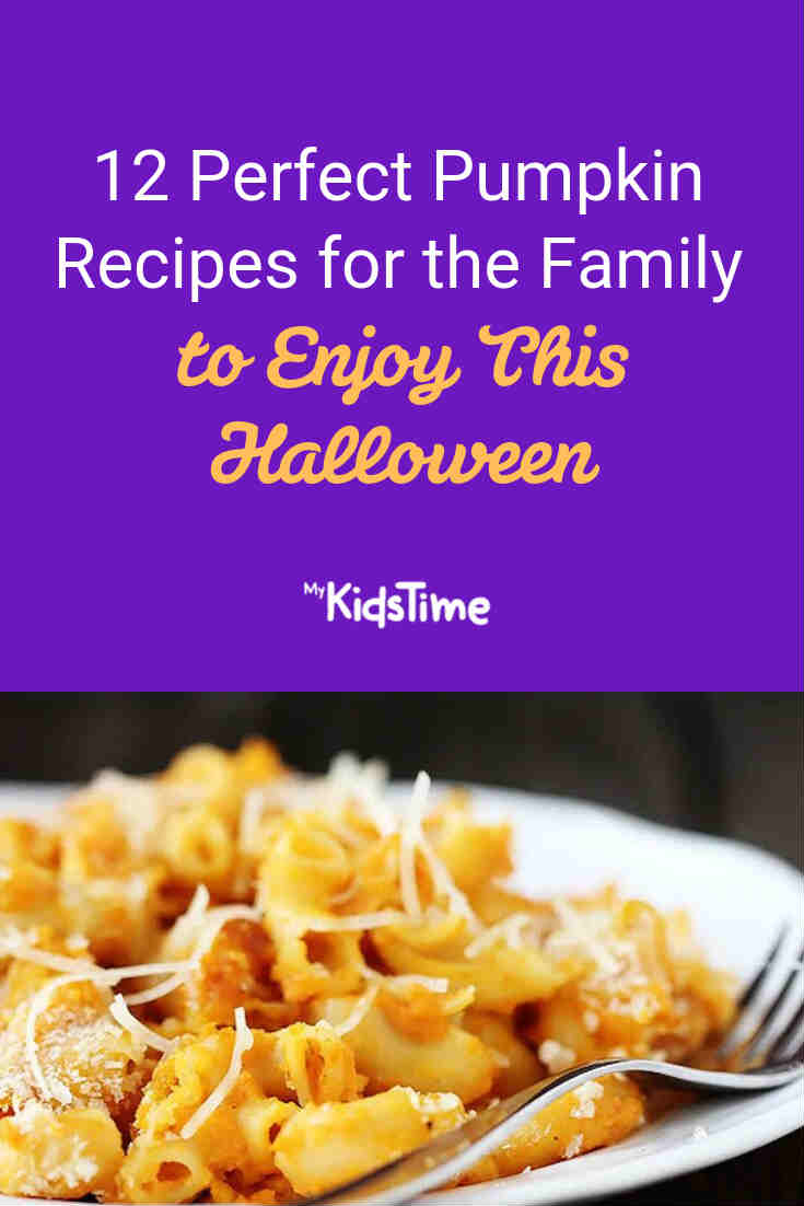12 Perfect Pumpkin Recipes for the Family this Halloween - Mykidstime
