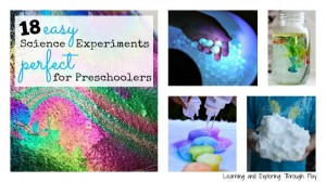 18 Easy Science Experiment perfect for preschoolers