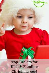Top Tablets for Kids & Families for Christmas 2016