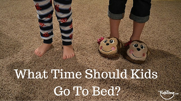 What Time Should Kids Go To Bed