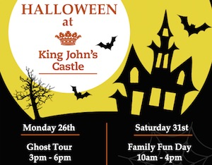 Halloween Fun at King Johns Castle Limerick