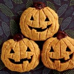 Jack O Lantern Halloween Cookies from Diamonds for Dessert