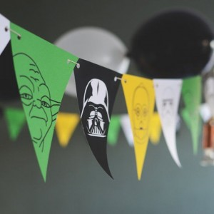 star wars printable banners