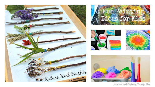 4d1fb4018 Fun Guaranteed with these 22 Easy Painting Ideas for Kids