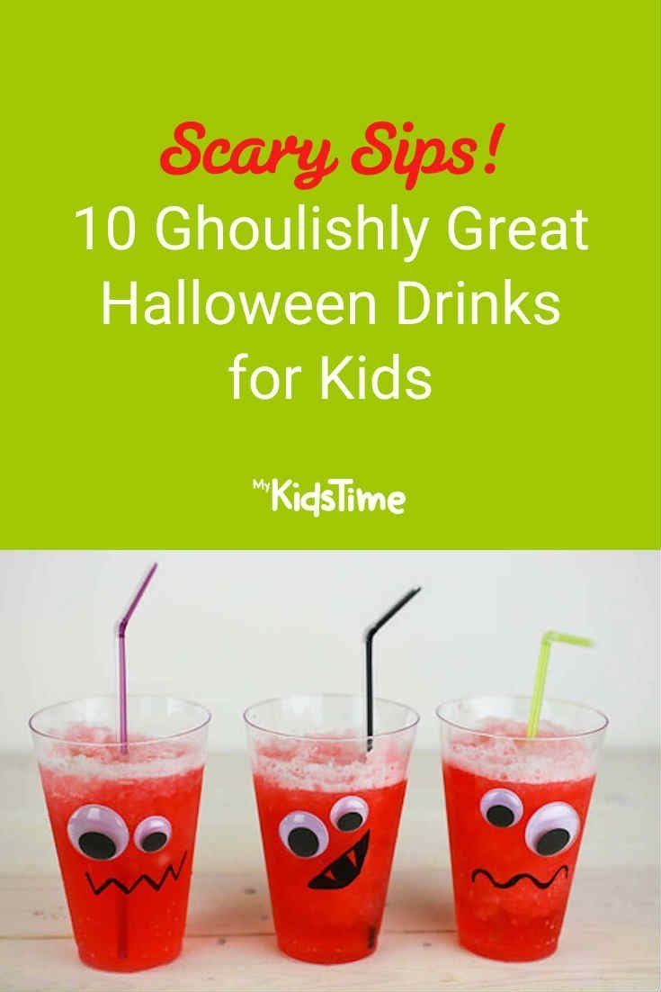 10 Ghoulishly Great Halloween Drinks for Kids - Mykidstime