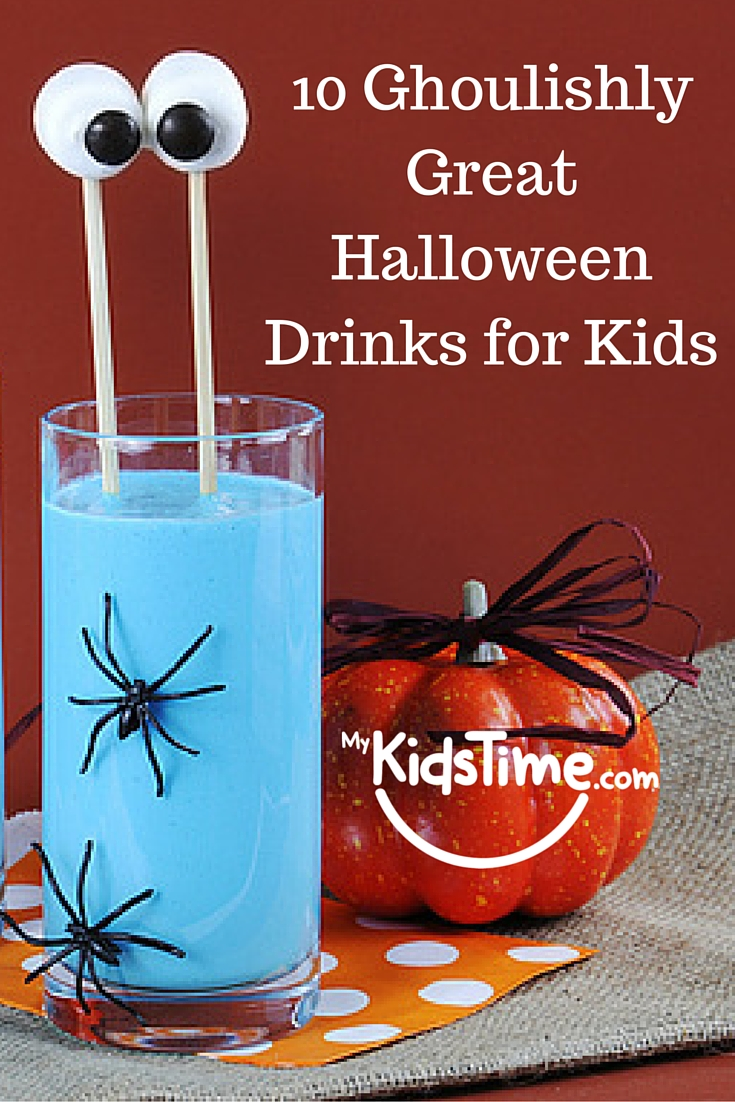 10 ghouslishly great halloween drinks for kids - Great Halloween Drinks