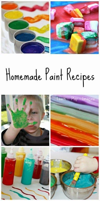 home made paint recipes