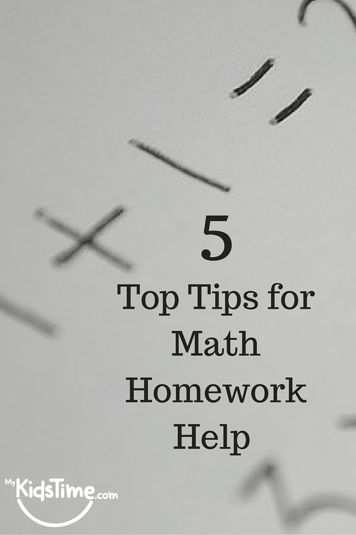 Maths homework help for parents