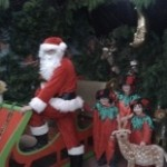 Santa at Leahys Open Farm