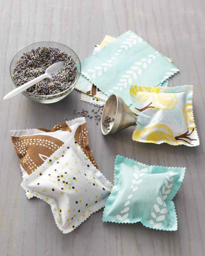 scented sachets sewing projectc
