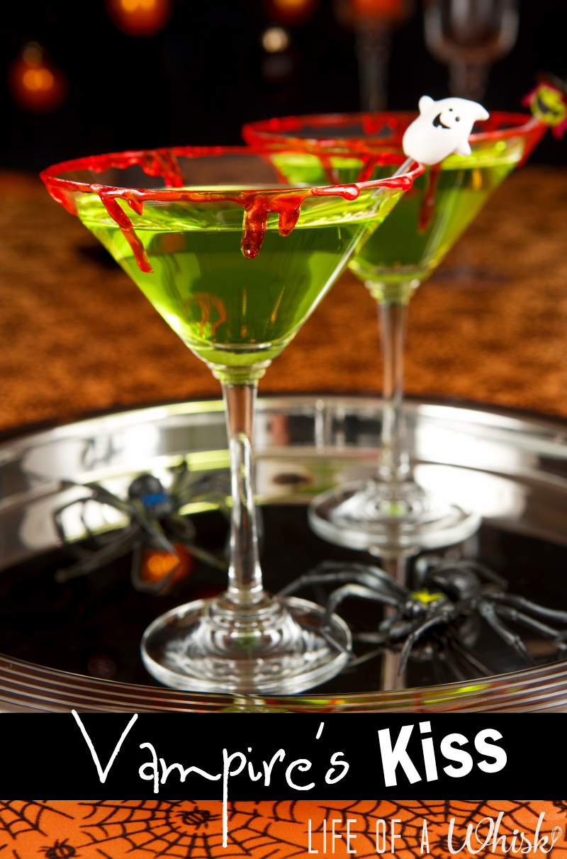 adult version but you can make it tween friendly by replacing the alcohol with lime kool aid there are lots more ideas in 10 ghoulish halloween drinks