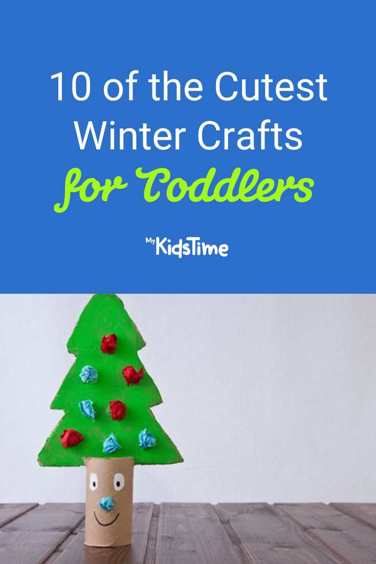 10 of the Cutest Winter Crafts for Toddlers - Mykidstime