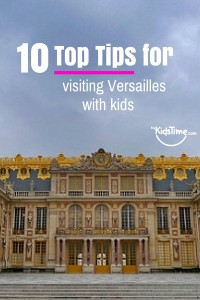visiting versailles with kids