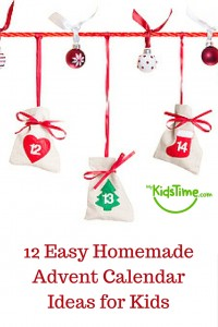 12 Easy Homemade Advent Calendar Ideas for Kids