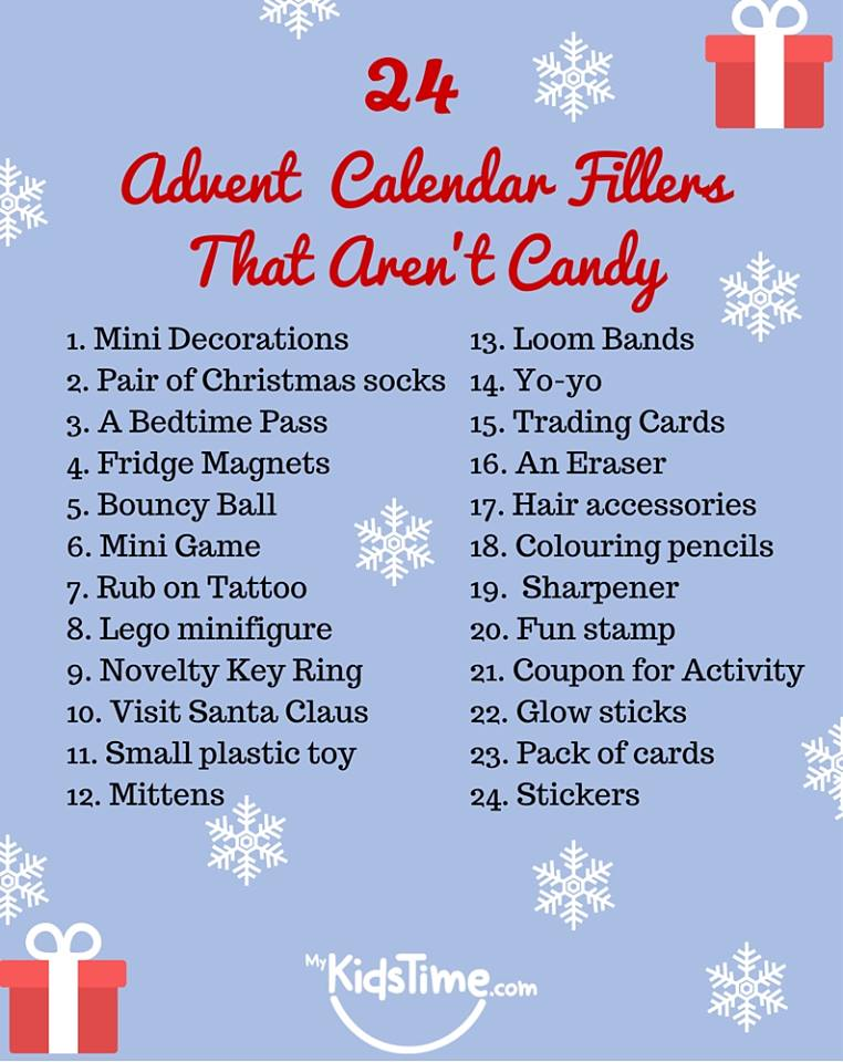 Things to do for advent