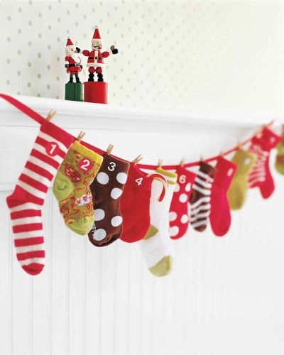 baby sock advent calendar_marthas