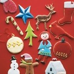 Christmas Sugar Cutout Cookies from Martha Stewart