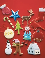 Homemade Food Gifts Christmas Sugar Cutout Cookies from Martha Stewart