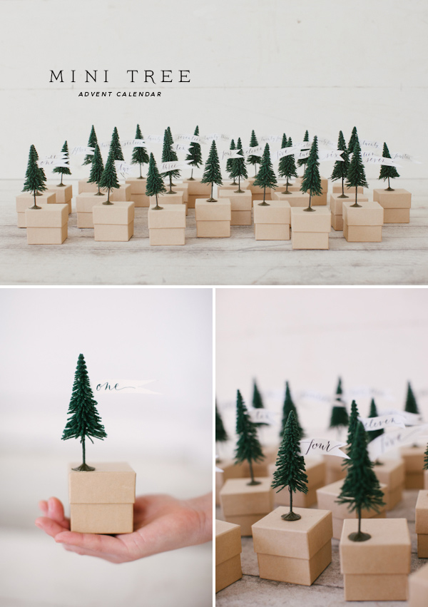 christmas-tree-advent boxes