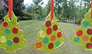 edible homemade christmas decorations for kids to make from jollyrancher christmas trees from sugartownsweets