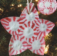 edible homemade christmas decorations for kids to make peppermint candy ornaments from hello homebody