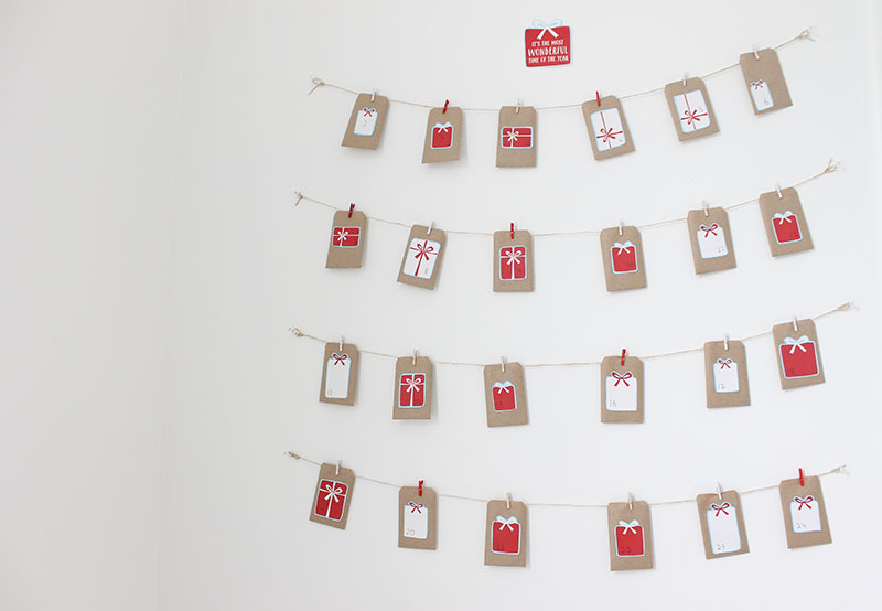 Advent Calendar Envelopes Ideas : Easy homemade advent calendar ideas for kids