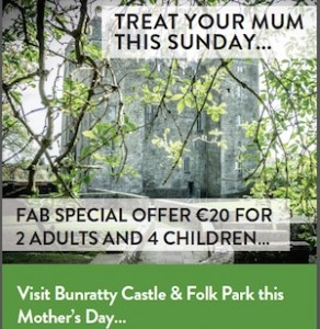 Mothers Day in Limerick and Clare