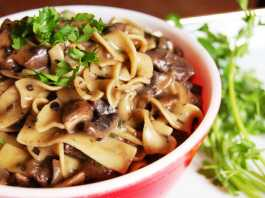 Mykidstime best vegetarian recipes mushroom stroganoff