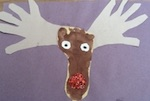 Rudolph Paper craft