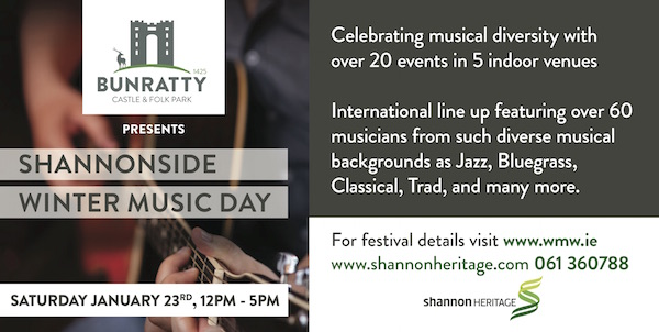 Shannonside Music Festival at Bunratty Castle