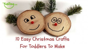 10 Easy Christmas Crafts for Toddlers to Make Header4